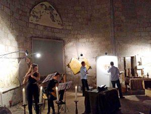 """Viterbo - S. M. della Salute - Un momento di """"Arte e musica"""""""
