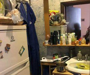 Roma - Gli alloggi scoperti dalla polizia locale sopra la pizzeria