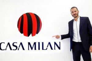 Sport - Calcio - Leonardo Bonucci a Casa Milan