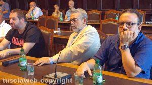 Viterbo - Consiglio straordinario sull'Unione - Cervo, Antoniozzi e Manganiello