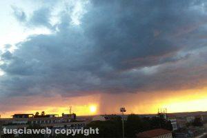 Viterbo - Un tramonto