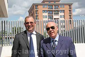 L'avvocato Alessandro Diddi e Giuseppe Aloisio