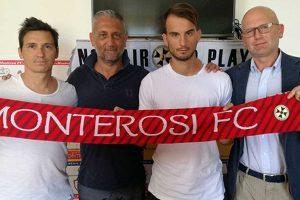 Sport - Calcio - Monterosi - Tomascy Francabandiera