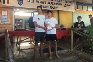 Sport - Vela - La premiazione della Tuscia cup