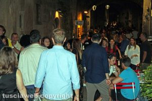 Viterbo - La movida in centro storico