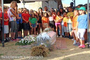 Oriolo - I funerali di Nadia Ouedraogo