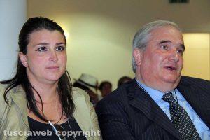 Viterbo - Luisa Ciambella e Giuseppe Fioroni