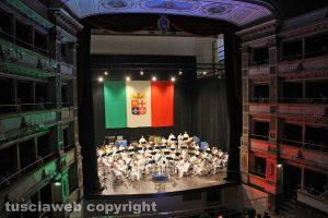Viterbo - L'inaugurazione del teatro dell'Unione - Il concerto della banda della Marina