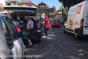 Viterbo - L'incidente a via della Palazzina