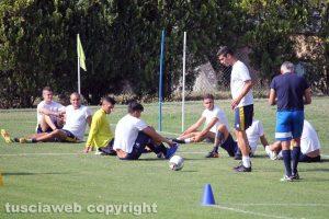 Sport - Calcio - Viterbese - La squadra al lavoro a Chianciano Terme