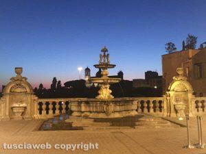 Viterbo - Comune - Il giardino di Palazzo dei Priori