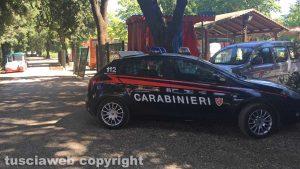 Viterbo - Carabinieri a pratogiardino Lucio Battisti