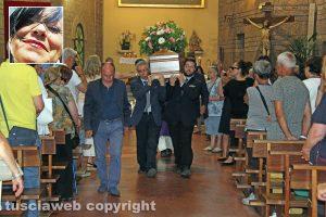 Viterbo - I funerali di Grazia Vecchiarino