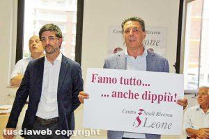 Viterbo - Presentazione centro studi Il leone - Daniele Sabatini e Giulio Marini