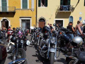 Ischia di Castro - la festa del motociclista