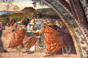 Tarquinia - Gli affreschi del duomo restaurati