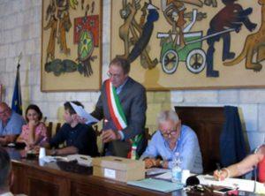 Tarquinia - Il sindaco Pietro Mencarini