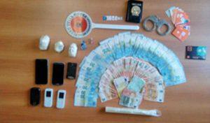 Viterbo - Il materiale sequestrato dai carabinieri