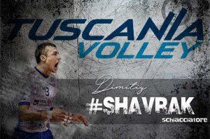 Sport - Pallavolo - Tuscania volley - Dimitry Shavrak