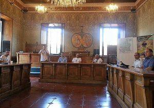 Vetralla - La conferenza di presentazione del Gran fondo Monte Fogliano