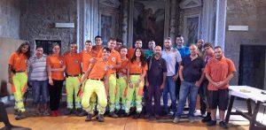 Campo di volontariato nazionale dei ragazzi della protezione civile