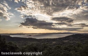 Bolsena - Tramonto sul lago
