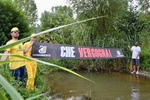 Legambiente - Goletta dei laghi - Bandiera nera al lago di Bolsena