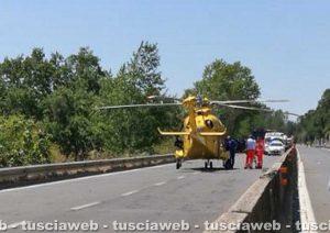 Un incidente sulla Cassia