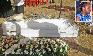 Oriolo Romano - I funerali di Nadia Ouedraogo