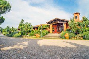 Il ristorante Villa san Michele