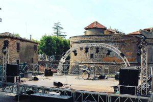 Vejano - Il palco del Borgo in arte festival