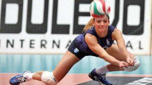 La pallavolista Francesca Moretti