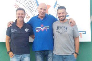 Sport - Pallavolo - Lo staff dello Sporting Viterbo
