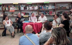 Viterbo - La riunione dei commercianti di via Cairoli