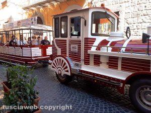San Pellegrino - Il trenino turistico in via Cardinal La Fontaine