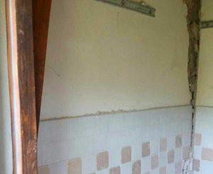 Ussita - Casa della signora Lusciana Santi, ripulita dai ladri