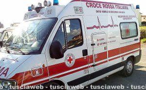 L'ambulanza della Croce rossa