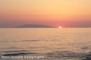 Tarquinia - un tramonto a Marina Velka