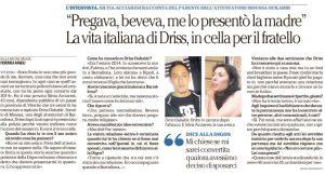L'articolo di Repubblica con le dichiarazioni di Silvia Acciaresi