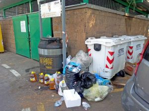 Bolsena - Punto raccolta rifiuti-P.le-Nassyria
