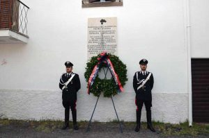 Viterbo - Eccidio Ponte di Cetti - La commemorazione dei carabinieri