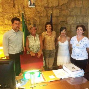 Bagnoregio - Visita della presidente di Enit, Evelina Christillin