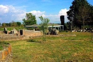 Viterbo - L'area delle terme a Ferento