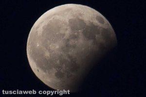 Viterbo - L'eclissi lunare