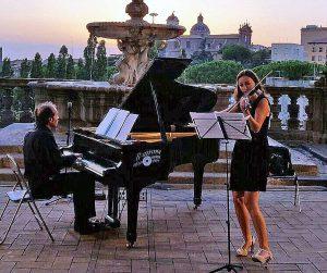 Wanda Folliero e Ferdinando Bastianini