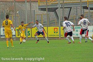 Sport - Calcio - Il match tra Viterbese e Flaminia