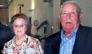 Viterbo - Carlo Quintarelli e la moglie Francesca Rampietti