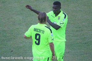 Sport - Calcio - Viterbese - Bismark Ngissah e Andrea Razzitti