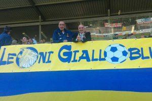Sport - Calcio - Viterbese - I tifosi del gruppo Leoni gialloblù