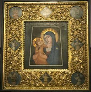 Nancy - L'immagine della Madonna della Quercia